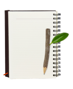 Notebook w-pencil